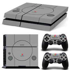 Retro PS1 style Vinyl Game Cover Sony PS4  Skin Sticker Console Controller
