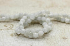 Rainbow Moonstone Faceted Round Natural Gemstone Beads - 4mm - Full Strand