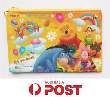 New Disney Winnie the Pooh Bear Party Girls Boys Kids Zip Up Coin Purse Wallet