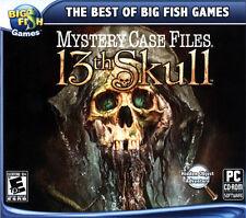 Mystery Case Files: 13th Skull + Bonus Hidden Object PC Game