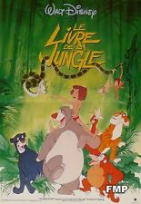 THE JUNGLE BOOK - DISNEY - REISSUE SMALL FRENCH MOVIE POSTER