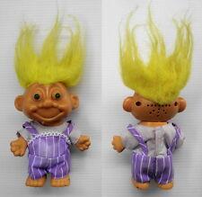 Figurine poupée ancienne Troll Doll  Light & sonore Russ 15cm avec costume