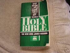 Holy Bible King James Version 1990