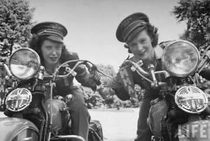 Harley Davidson Vintage Meter Maids Poster Picture 5-079