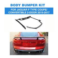 Bodykit Carbon Fiber Front Lip Diffuser Spoiler for Jaguar F Type 2Door 15-17