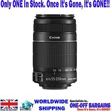 CANON EF-S 55-250mm f/4.0-5.6 IS II TELEPHOTO MACRO ZOOM LENS 2044B002 - FREE PP