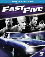 PRE  ORDER: FAST FIVE - BLU RAY - Region A - Sealed