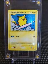 Secret Rare Holo 2009 Near Mint Surfing Pikachu 114/111 Rising Rivals