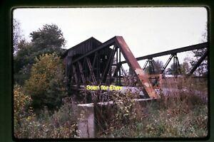 Covered Bridge, Putnam County Indiana in 1967, Original Slide aa 3-16a