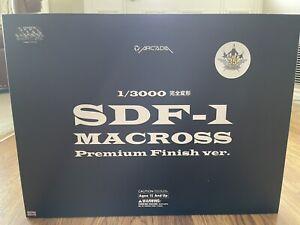 Arcadia Premium Finish Macross Robotech 1/3000 DYRL SDF-1 US Seller