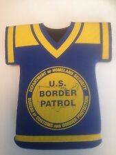 U.S. Border Patrol Promotional Memorabilia Beer Can Insulator