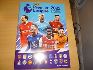 PANINI PREMIER LEAGUE 2021 COMPLETE LOOSE SET OF 642 STICKERS and empty album