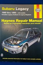 Haynes Subaru Legacy Outback Brighton Repair Service Manual 1990 - 1999  #89100
