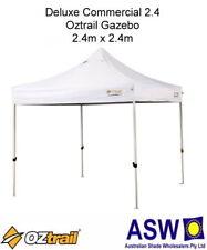 Commercial Oztrail White Deluxe Gazebo Shelter Stall