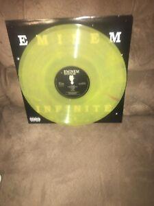 Eminem Infinite  Lp Limited Edition Yellow Vinyl France ,Fastest Ship, Sealed!