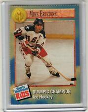 1992 Sports Illustrated Kids Si Sifk ice hockey MIKE ERUZIONE Olympics