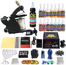 Tattoo kit 1 uk Machine gun ink Needles Supply Professional Tattoo Coil Machine