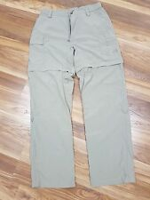 The North Face Women Size Medium Zip Off Khaki Pants