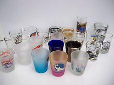 21 SHOT GLASSES ASSORTED SHOTGLASSES