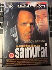 * DVD FILM * AMERICAN SAMURAI