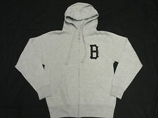 NEW Mens Black Scale Zip Hoodie Sweatshirt Grey Urban *Made In USA* Size S L870
