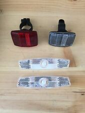 Universal Bike Bicycle Reflector set (most common) Style #15 Youth BMX