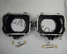 Pair Headlight Bucket Housing for 83-97 Toyota Hilux LN85 LN106 4Runner Pickup
