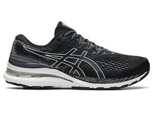 Asics Men Shoes Running Training Athletic Sport Gym Comfort GEL-KAYANO 28 Black