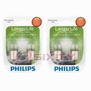 2 pc Philips Tail Light Bulbs for Dodge Monaco Polara 1972 Electrical pu
