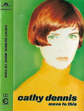 Cathy Dennis ‎Move To This CASSETTE ALBUM Electronic Pop House, Synth-pop