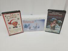 Christmas Cassette Tape Lot of 3 Harry Simeone Chorale Bing Crosby Christmas Joy