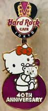Hard Rock Cafe TOKYO 2014 HELLO KITTY 40th Anniversary Guitar PIN LE 200 #81027