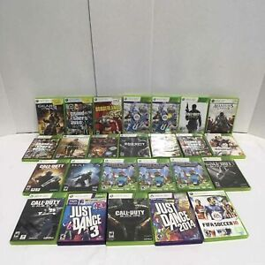 25 Microsoft Xbox 360 Empty Game Cases