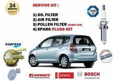 Service Kits For Honda Jazz I For Sale Ebay