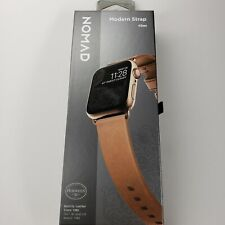 Nomad Slim Modern Leather Watch Strap for Apple Watch 40mm Natural * BRAND NEW!!