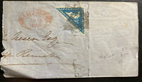 1863 Cape Of Good Hope South Africa Letter Sheet Cover