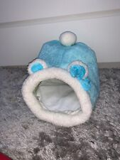 New Blue Soft House For Rabbit Ferret Guinea Pig Hampster