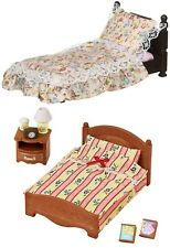 Sylvanian Families – Two Bed Sets Together – Suite Bed and Semi-Double Bed Sets