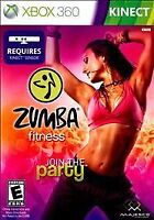 Zumba Fitness JOIN THE PARTY XBOX 360 KINECT! DANCE, WORKOUT, CARDIO, JUST FUN 0