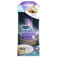 Schick Women Intuition Pure Nourishment 1 Razor + 2 Cartridge Blade Refills