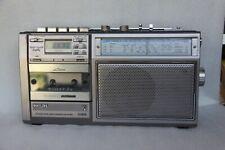 PHILIPS D 7419 RADIO CASSETTES HORLOGE VINTAGE TBE