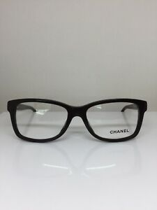 New Authentic Chanel 3311 Eyeglasses M. 3311-A C. 1501 Shiny Brown 54-16mm Italy