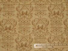 Rejoice in the Season Gold Christmas Nativity Fabric  1/2 Yard   #19761-16