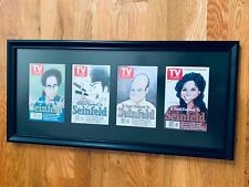 Seinfeld 1998 TV Guide Commemorative Finale Covers - Complete Set of 4, Framed