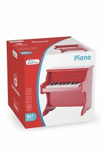 New Classic Toys Wooden Red Toy Piano