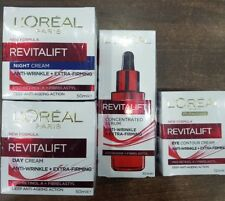 Loreal Revitalift Anti-Wrinkle 4pc Set Day, Night, Eye, and Serum