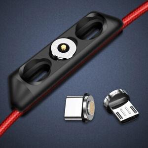 5pcs Magnetic Plug Box Charging Adapter Plug Case For Type C Micro USBBDAU