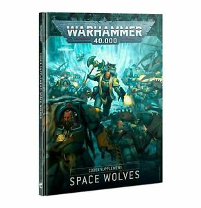 FAST FREE SHIP Warhammer 40k Space Wolves Codex Supplement New