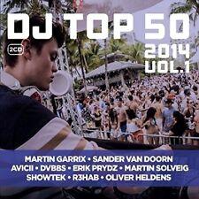 DJ TOP 50 2014 VOL.1 2 CD NEW