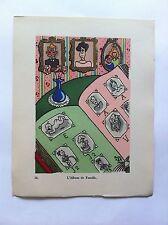Album de famille SANSTICKETS Dessin illustration POL FERJAC HUMOUR 1942